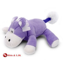 Benutzerdefinierte Werbe-schöne lila Kuh gefüllt Spielzeug