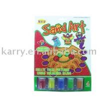 Kindersand-Kunst-Kits