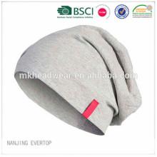 Maillot en coton doux jersey / maillot slouchy / fournisseur de chapeau slouchy