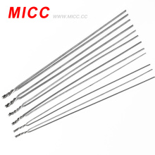 bright 8 awg thermocouple k bare wire 3.2mm for assembled thermocouple