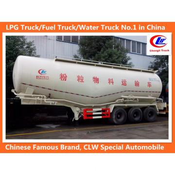 3 Axles 45-50t Bulk Cement Semi-Trailer