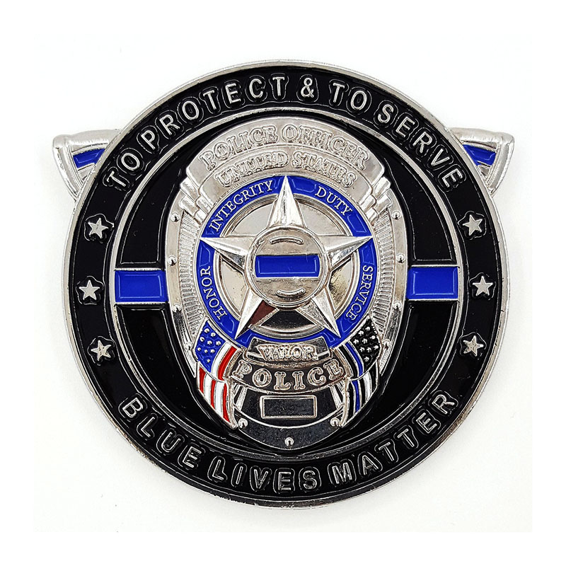 Police Nypd Challenge Coin
