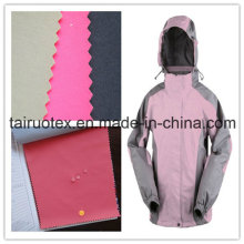 320t nylon Taslon com leitoso revestido para tecido de terno de esqui