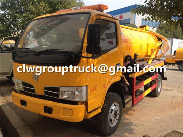 Dongfeng Sewage Suction Truck