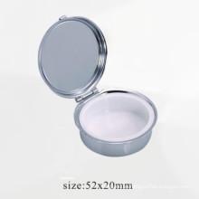 Caja inoxidable del metal de la alta calidad de la plata (BOX-26)