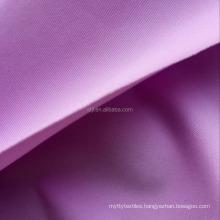 Weft knit free cut 82/18 40D nylon spandex interlock fabric for bra and panty