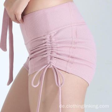 Yoga Wear Side String Short für Frauen