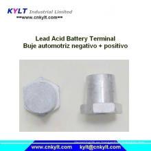 Ecuador Batería de Plomo-Ácido Buje Automotriz Negativo / Positivo Pb Terminales