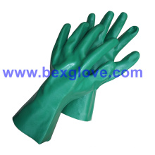 Хлопковая блокировочная подкладка, нитрильное покрытие, полностью рабочая перчатка