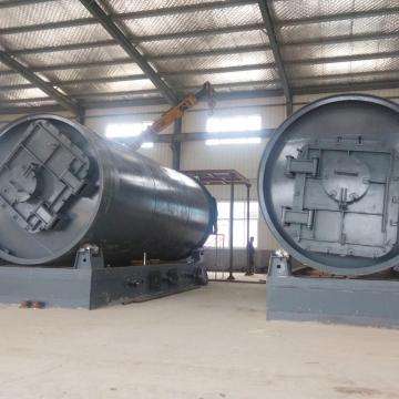 Machine de recyclage de pneus usés avec nouveau brevet