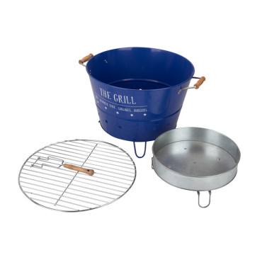 Galvanized Steel Outdoor Portable Used BBQ Grill