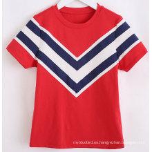 Camiseta Stripe Navy Girl de Fashion