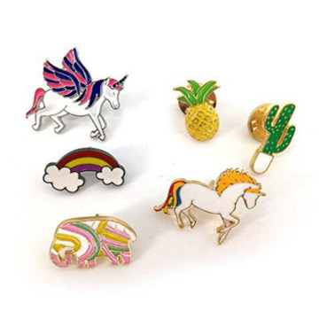 Cute Cartoon Brooches Pins for Kids Clothes Decoration