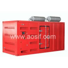 500KVA Doosan Super Silent Generator Set
