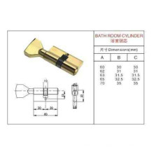Cilindro Estándar con cerradura de la cerradura de la perilla (CILINDRO del CUARTO DE BAÑO)
