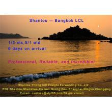 LCL Konsolidierung Versand von Shantou nach Bangkok