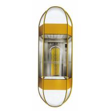 1000kg Ascenseur panoramique en forme de diamant avec cabine à capsule (LL-024)