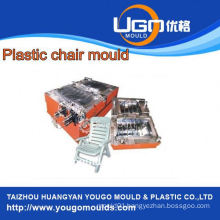 2013 hot sale popular new design plastic foldable Injection chair mould in Huangyan China