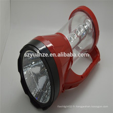 Lampes de chasse guidées rechargeables, torche rechargeable