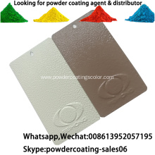 Ral Color Thermmosetting Powder Coating For Metal Substrates