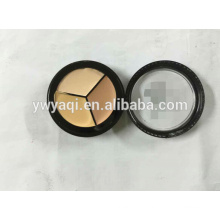 3 Color Conealer in Round Case Hide the Blemish Foundation