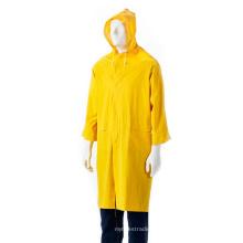 Capa de chuva adulto em PVC com botão e capuz