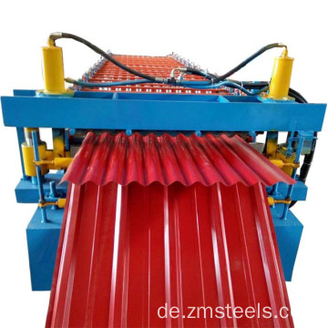 az50 rote Farbe Wellblech