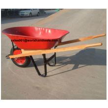 High Quality Wooden Handle Construction Wheelbarrow Wh5400