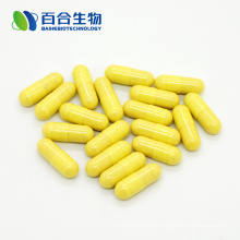 dietary supplement Turmeric extract capsule
