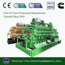 Generador de CHP Gas Natural y LPG CNG LNG para la Planta de Energía Eléctrica Genset 10kw a 600kw