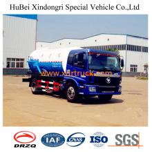 9cbm New Model Sewage Suction Truck Euro 4