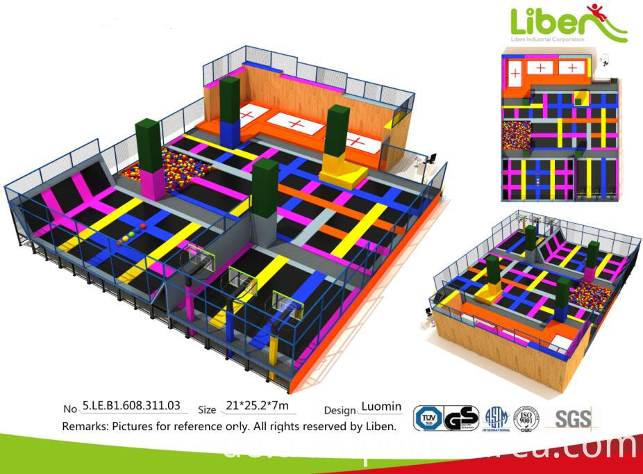jump and bounce trampoline park
