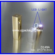 2014 nuevo producto vacío LED lápiz labial tubo de lujo de embalaje de cosméticos LED