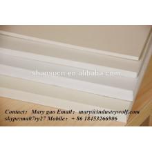 vente de panneau de mousse de PVC extrudé de haute densité meilleur prix / planche à découper / fabricant de carte de circuit imprimé / feuille d'uhmwpe /