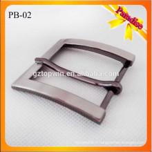PB02 Vente chaude vente en gros hommes dames mode en alliage de zinc accessoires de ceinture boucle de broche en métal pour courroie 35mm