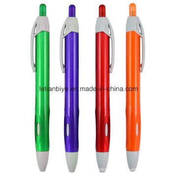 Прозрачная пластиковая ручка, продвижение шариковой ручкой (ЛТ-C728)