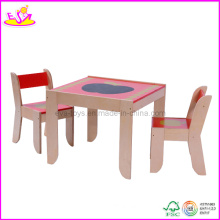Kindergarten Furniture - Kids Desk and Chair (WO8G091)
