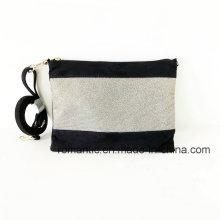 China Lieferant Mode Frauen PU Wildleder Handtaschen auf Lager (NMDK-051701)