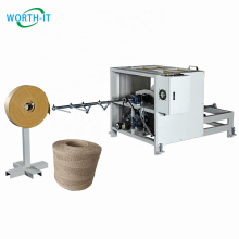 Single head automatic twisted paper rope handle making machine