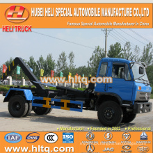 Dongfeng new model 4x2 10tons hook lift garbage truck 190hp high quality best selling In China