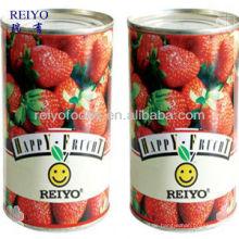 Ingeschnittene Erdbeere