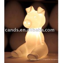 Lámpara de mesa de cerámica para niños Lámpara de mesa de lectura