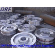 Alloy Steel Forgings (Rail vehicle wheel forging)