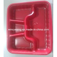 Plaque de service en plastique rouge (HL-157)