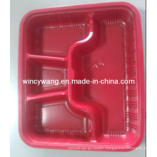 Red Plastic Service Plate (HL-157)