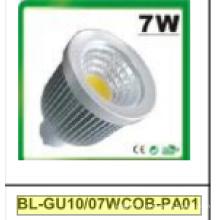 Projecteur de 7W Dimmable GU10 COB LED