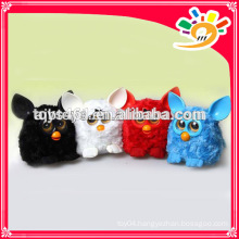 Cute Phoebe bo toys talking and repeat plush toys with LCD eyes