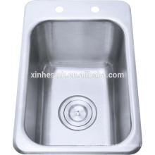 Bathroom sinks stainless steel wash basin
