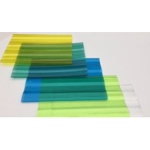 Light Weight Polycarbonate Corrugated Roofing Sheet