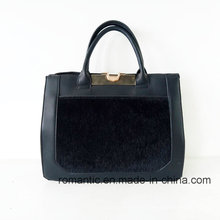 Neue Modell Mode Damen PU Pelz Handtaschen (P-1007)